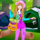 Barbie Camping Dress Up