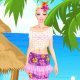Barbie Hawaii Dress Up