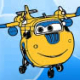 Colorir Donnie de Super Wings