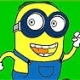 Colorir Minion Correndo