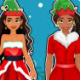 Elena and Moana Christmas Shopping