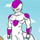 Pinte Freeza de Dragon Ball