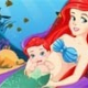 Pregnant Ariel Gives Birth