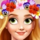 Rapunzel Flower Crown