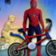 Spiderman BMX Race